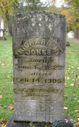 JONES (CW), RICHARD H - Greene County, New York   RICHARD H JONES (CW) - New York Gravestone Photos