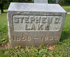 LAKE, STEPHEN D - Greene County, New York | STEPHEN D LAKE - New York Gravestone Photos
