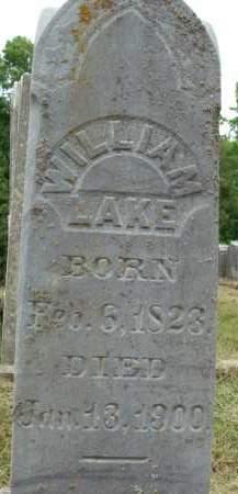 LAKE, WILLIAM - Greene County, New York | WILLIAM LAKE - New York Gravestone Photos