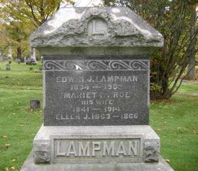 ROE LAMPMAN, MARIETTA - Greene County, New York | MARIETTA ROE LAMPMAN - New York Gravestone Photos