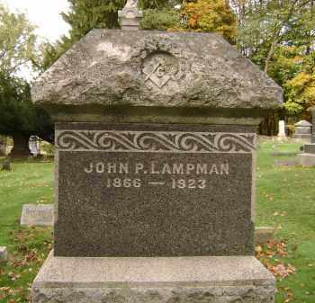 LAMPMAN, JOHN P - Greene County, New York | JOHN P LAMPMAN - New York Gravestone Photos
