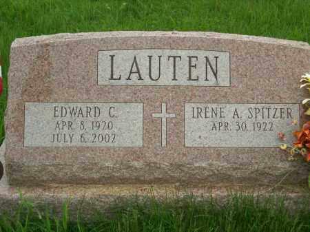 LAUTEN, IRENE A. - Greene County, New York | IRENE A. LAUTEN - New York Gravestone Photos