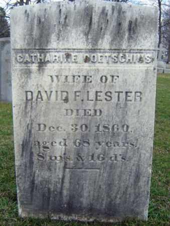 GOETSCHIUS LESTER, CATHARINE - Greene County, New York | CATHARINE GOETSCHIUS LESTER - New York Gravestone Photos