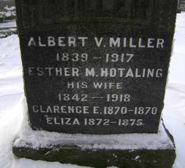 HOTALING MILLER, ESTHER M - Greene County, New York | ESTHER M HOTALING MILLER - New York Gravestone Photos