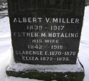 MILLER, ESTHER M - Greene County, New York | ESTHER M MILLER - New York Gravestone Photos