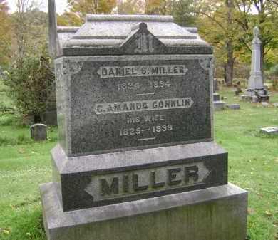CONKLIN MILLER, C. AMANDA - Greene County, New York   C. AMANDA CONKLIN MILLER - New York Gravestone Photos