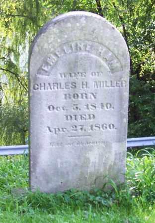 HAM MILLER, EMELINE - Greene County, New York | EMELINE HAM MILLER - New York Gravestone Photos