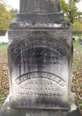 MILLER, ANN E - Greene County, New York | ANN E MILLER - New York Gravestone Photos