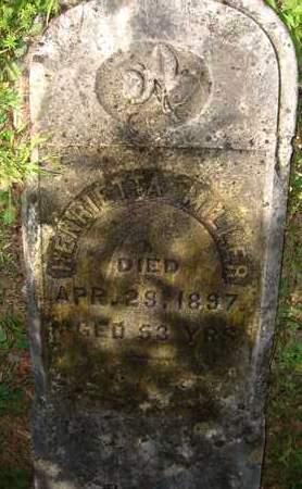 MILLER, HENRIETTA - Greene County, New York   HENRIETTA MILLER - New York Gravestone Photos