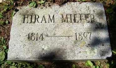 MILLER, HIRAM - Greene County, New York | HIRAM MILLER - New York Gravestone Photos