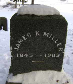 MILLER, JAMES K - Greene County, New York | JAMES K MILLER - New York Gravestone Photos