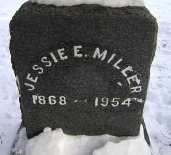 MILLER, JESSIE E - Greene County, New York | JESSIE E MILLER - New York Gravestone Photos