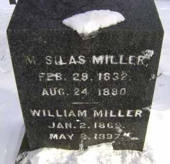 MILLER, WILLIAM - Greene County, New York | WILLIAM MILLER - New York Gravestone Photos