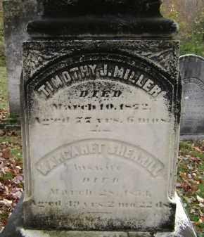 MILLER, MARGARET - Greene County, New York | MARGARET MILLER - New York Gravestone Photos