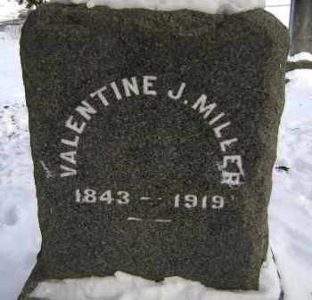 MILLER, VALENTINE J - Greene County, New York   VALENTINE J MILLER - New York Gravestone Photos