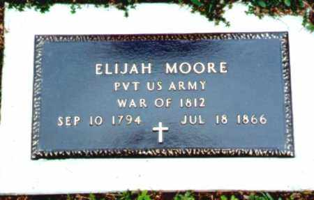 MOORE, ELIJAH - Greene County, New York | ELIJAH MOORE - New York Gravestone Photos