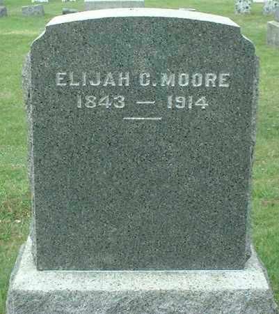 MOORE, ELIJAH C. - Greene County, New York | ELIJAH C. MOORE - New York Gravestone Photos