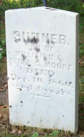 MOORE, SUMNER - Greene County, New York | SUMNER MOORE - New York Gravestone Photos