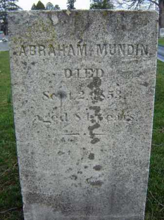 MUNDIN, ABRAHAM - Greene County, New York | ABRAHAM MUNDIN - New York Gravestone Photos