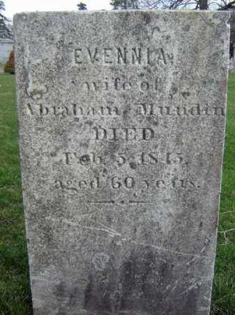 MUNDIN, EVENNIA - Greene County, New York | EVENNIA MUNDIN - New York Gravestone Photos
