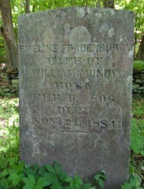 FRADENBURGH, EMELINE - Greene County, New York | EMELINE FRADENBURGH - New York Gravestone Photos