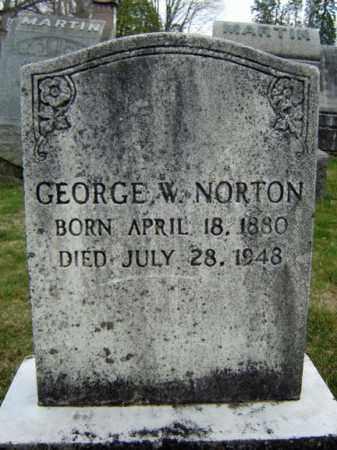 NORTON, GEORGE W - Greene County, New York | GEORGE W NORTON - New York Gravestone Photos