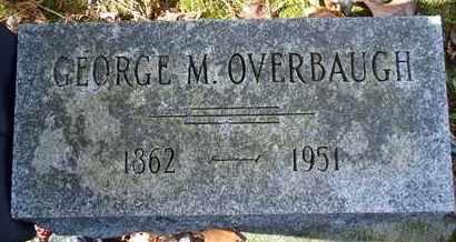 OVERBAUGH, GEORGE M - Greene County, New York   GEORGE M OVERBAUGH - New York Gravestone Photos