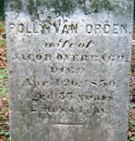 OVERBAUGH, POLLY - Greene County, New York | POLLY OVERBAUGH - New York Gravestone Photos