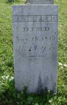 PALMER, BENJAMIN - Greene County, New York | BENJAMIN PALMER - New York Gravestone Photos