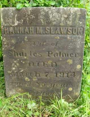 PALMER, HANNAH M - Greene County, New York   HANNAH M PALMER - New York Gravestone Photos