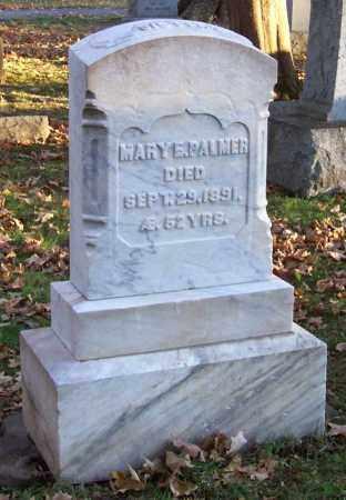 PALMER, MARY E. - Greene County, New York | MARY E. PALMER - New York Gravestone Photos