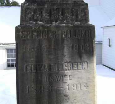 PALMER, ELIZA M - Greene County, New York | ELIZA M PALMER - New York Gravestone Photos