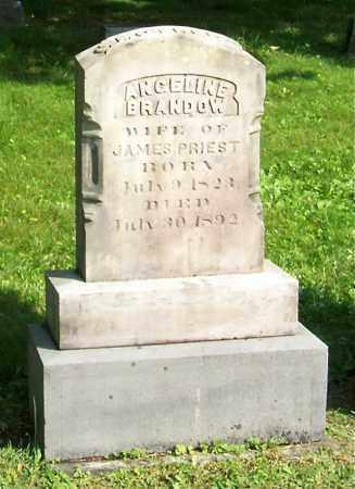 BRANDOW, ANGELINE - Greene County, New York | ANGELINE BRANDOW - New York Gravestone Photos