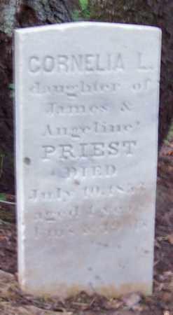 PRIEST, CORNELIA L. - Greene County, New York | CORNELIA L. PRIEST - New York Gravestone Photos