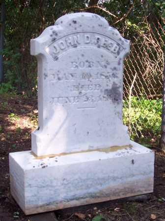 REED, JOHN D. - Greene County, New York | JOHN D. REED - New York Gravestone Photos