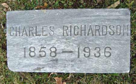 RICHARDSON, CHARLES - Greene County, New York | CHARLES RICHARDSON - New York Gravestone Photos