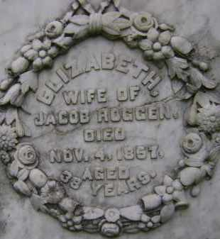 ROGGEN, ELIZABETH - Greene County, New York   ELIZABETH ROGGEN - New York Gravestone Photos