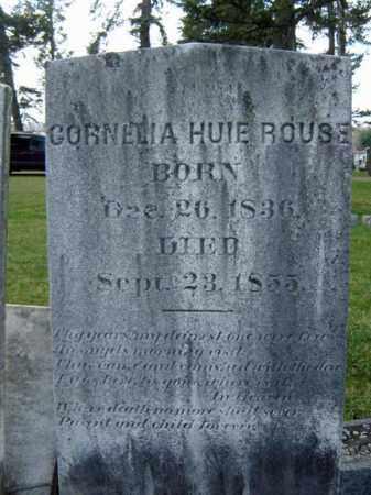 ROUSE, CORNELIA HUIE - Greene County, New York   CORNELIA HUIE ROUSE - New York Gravestone Photos