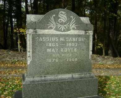 SANFORD, MAY - Greene County, New York | MAY SANFORD - New York Gravestone Photos