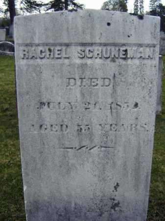 SCHUNEMAN, RACHEL - Greene County, New York | RACHEL SCHUNEMAN - New York Gravestone Photos