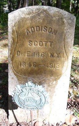 SCOTT, ADDISON - Greene County, New York | ADDISON SCOTT - New York Gravestone Photos