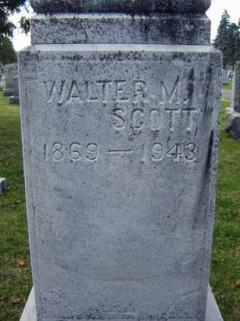 SCOTT, WALTER M - Greene County, New York | WALTER M SCOTT - New York Gravestone Photos