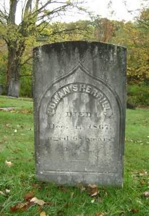SHERRILL, LUMAN - Greene County, New York | LUMAN SHERRILL - New York Gravestone Photos