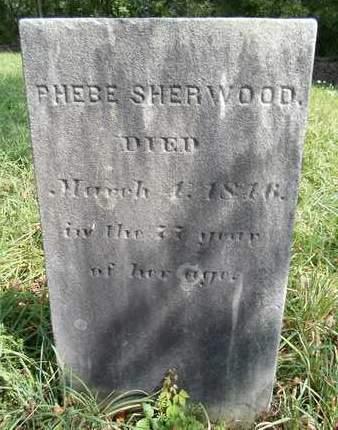 SHERWOOD, PHEBE - Greene County, New York | PHEBE SHERWOOD - New York Gravestone Photos