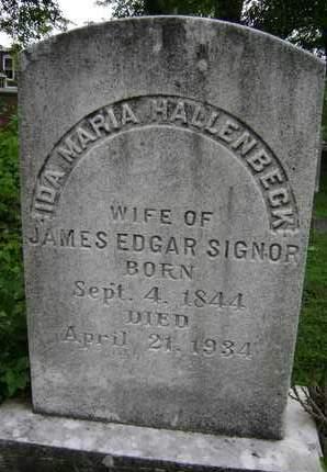 SIGNOR, IDA MARIA - Greene County, New York | IDA MARIA SIGNOR - New York Gravestone Photos