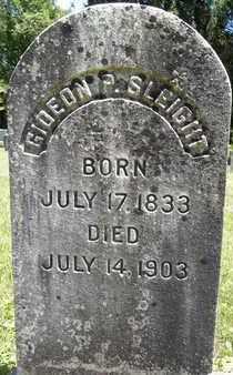 SLEIGHT, GIDEON P - Greene County, New York | GIDEON P SLEIGHT - New York Gravestone Photos