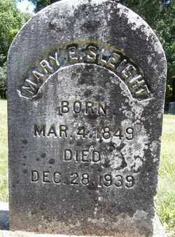SLEIGHT, MARY E - Greene County, New York | MARY E SLEIGHT - New York Gravestone Photos