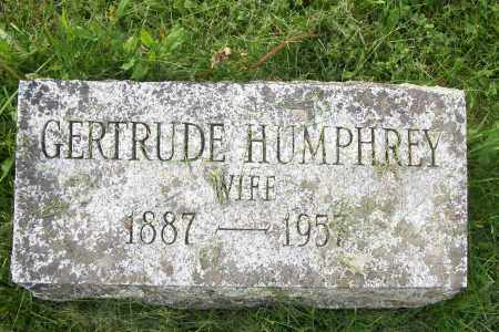 HUMPHREY, GERTRUDE - Greene County, New York | GERTRUDE HUMPHREY - New York Gravestone Photos