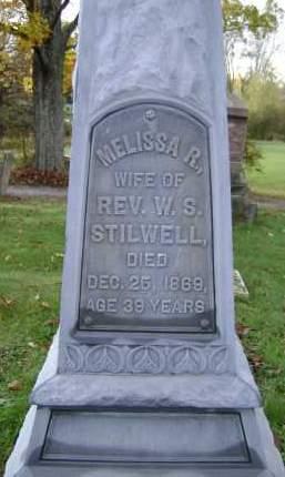 STILWELL, MELISSA R - Greene County, New York   MELISSA R STILWELL - New York Gravestone Photos
