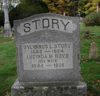 STORY, SYLVANUS L - Greene County, New York | SYLVANUS L STORY - New York Gravestone Photos